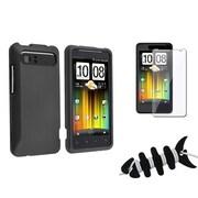 Insten® 1065885 3-Piece Case Bundle For HTC Holiday