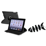 Insten® 1066237 2-Piece Tablet Headset Smart Wrap Bundle For Apple iPad 2/3/4