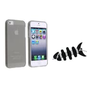 Insten® 1066760 2-Piece iPhone Headset Smart Wrap Bundle For Apple iPhone 5/5S