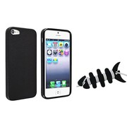 Insten® 1066768 2-Piece iPhone Headset Smart Wrap Bundle For Apple iPhone 5