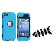 Insten® 1067235 2-Piece MP3 Headset Smart Wrap Bundle For Apple iPod Touch 4th Gen