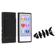 Insten® 1067393 2-Piece MP3 Headset Smart Wrap Bundle For Apple iPod Nano 7th Gen