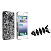 Insten® 1067456 2-Piece iPhone Case Bundle For Apple iPhone 5/5S