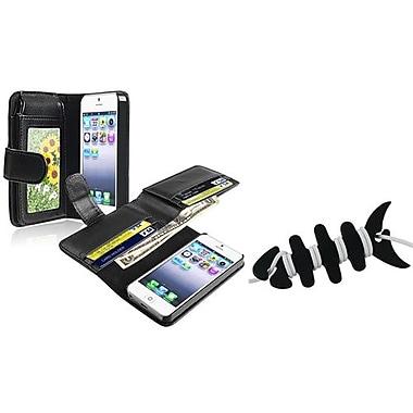 Insten® 1067567 2-Piece iPhone Headset Smart Wrap Bundle For Apple iPhone 5/5S