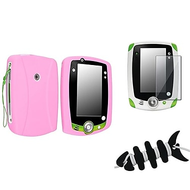 Insten® 1067816 3-Piece Tablet Headset Smart Wrap Bundle For Leapfrog LeapPad 2