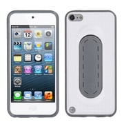 Insten® Snap Tail Stand Protector Cover For iPod Touch 5th Gen, White