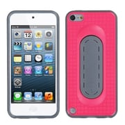 Insten® Snap Tail Stand Protector Cover For iPod Touch 5th Gen, Hot-Pink