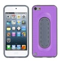 Insten® Snap Tail Stand Protector Cover For iPod Touch 5th Gen, Purple