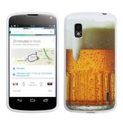 Insten® Gel Cover Case For LG Google Nexus 4 E960, Beer