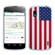 Insten® Gel Cover Case For LG Google Nexus 4 E960, United States National Flag