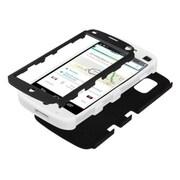 Insten® TUFF Hybrid Phone Protector Case For LG E960 Nexus 4, Black/Solid White