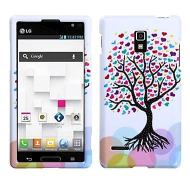 Insten® Protector Case For LG P769 Optimus L9, Love Tree