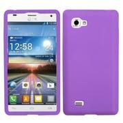 Insten® Skin Case For LG P880/Optimus 4X HD, Electric Purple