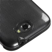 Insten® TUFF Hybrid Protector Cover For Samsung Galaxy Note II, Carbon Fiber/Black