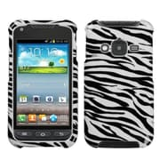 Insten® Phone Cover Case For Samsung Galaxy Rugby Pro i547, Zebra Skin Image