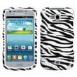 Insten® Phone Protector Case For Samsung R830 Galaxy Axiom, Zebra Skin