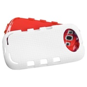 Insten® eNUFF Hybrid Protector Cover F/Samsung Galaxy SIII, Natural Red/White