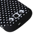 Insten® Rugged TUFF Hybrid Protector Cover Case For Samsung Galaxy SIII, Black/White Hearts