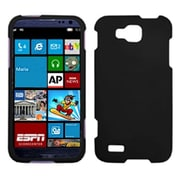 Insten® Rubberized Phone Protector Cover For Samsung T899 Odyssey, Black