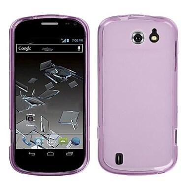 Insten® Candy Skin Cover For ZTE N9500 Flash, Semi Transparent Purple