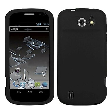 Insten® Skin Case For ZTE N9500 Flash, Solid Black