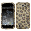 Insten® Diamante Protector Cover For ZTE N9500 Flash, Leopard/Camel