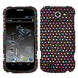 Insten® Diamante Protector Cover For ZTE N9500 Flash, Sprinkle Dots
