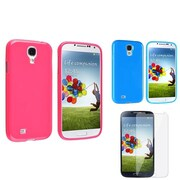 Insten® 1104468 3-Piece Screen Protector Bundle For Samsung Galaxy SIV/S4 i9500