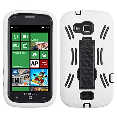 Insten® Symbiosis Stand Protector Cover For Samsung i930 ATIV Odyssey, Black/White
