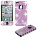 Insten® Star Glitter Full Body Screen Protectors For iPhone 4S