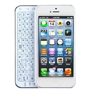 Insten® Backlight Side-Style Bluetooth Wireless Keyboard, White