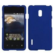 Insten® Protector Cover For LG US780 Optimus F7/LG870 Optimus F7, Titanium Solid Dark Blue