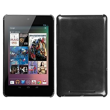 Insten® Back Protector Cover For Google Nexus 7, Carbon Fiber