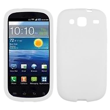 Insten® Solid Skin Cover For Samsung I425 (Galaxy Stratosphere III), Translucent White