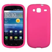 Insten® Solid Skin Cover For Samsung I425 (Galaxy Stratosphere III), Hot-Pink