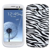 Insten® Skin Cover For Samsung Galaxy SIII, Zebra Skin