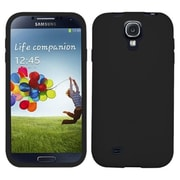 Insten® Solid Skin Cover For Samsung Galaxy S4, Black
