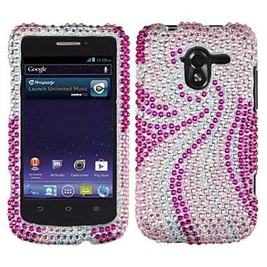 Insten® Diamante Protector Case For ZTE-N9120 Avid 4G, Phoenix Tail