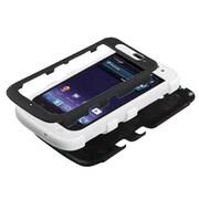 Insten® TUFF Hybrid Protector Cover For ZTE-N9120 Avid 4G, Black/Solid White