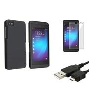 Insten® 1119046 3-Piece Case Bundle For BlackBerry Z10