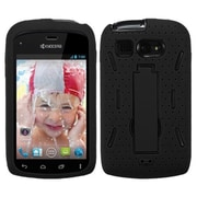 Insten® Symbiosis Stand Protector Cover For Kyocera C5170, Black/Black