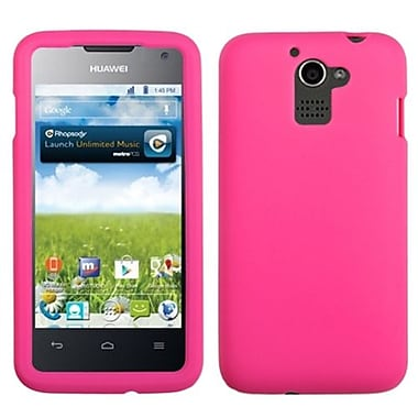 Insten® Skin Case For Huawei M931 Premia 4G, Solid Hot-Pink