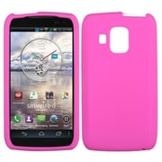 Insten® Skin Cover For Pantech ADR930LVW Perception, Solid Hot-Pink