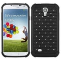 Insten® Luxurious Lattice Dazzling Protector Covers For Samsung Galaxy S4