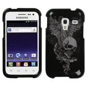 Insten® Phone Protector Case For Samsung R820 Galaxy Admire 4G, Skull Wing