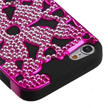 Insten® FlowerPower Hybrid Protector Covers For iPod Touch 5th Gen