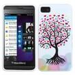 Insten® Candy Skin Cover For BlackBerry Z10, Love Tree