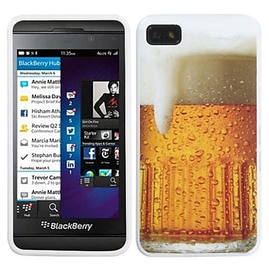 Insten® Candy Skin Cover For BlackBerry Z10, Beer