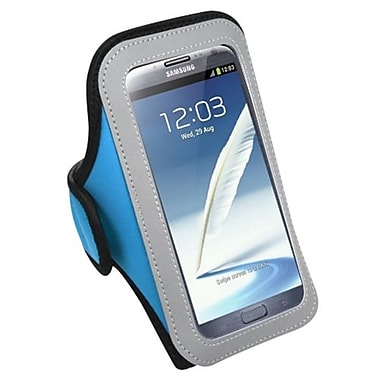 Insten® Vertical Pouch Universal Sport Armband For Samsung I717, T879, Galaxy Note II, Baby Blue