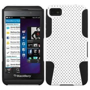 Insten® Astronoot Phone Protector Cover For BlackBerry Z10, White/Black